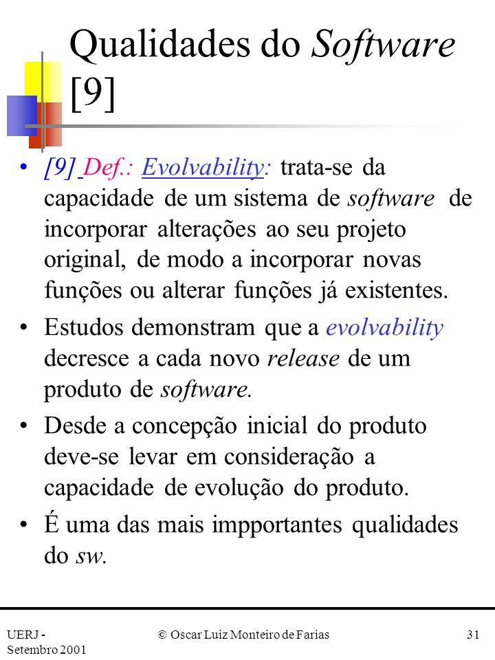 Qualidades do Software [9]